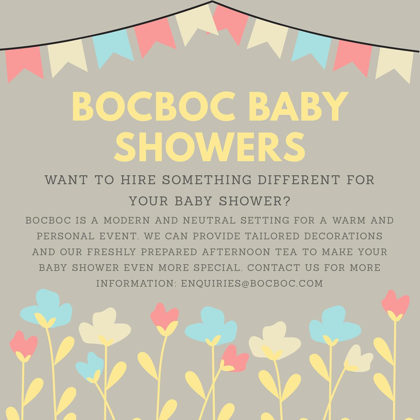 Baby Shower Hire
