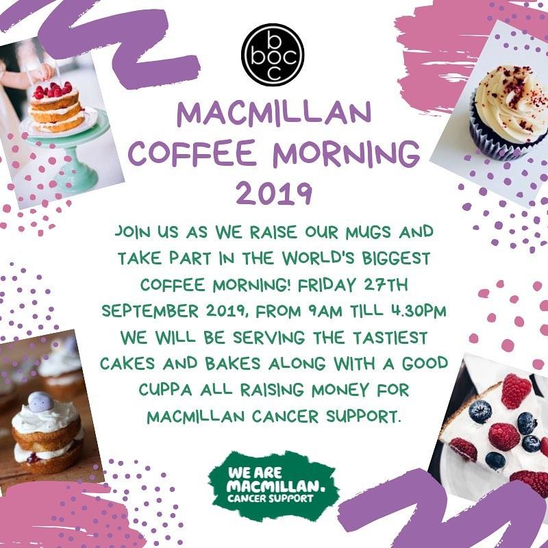 Macmillian Coffee Morning 19