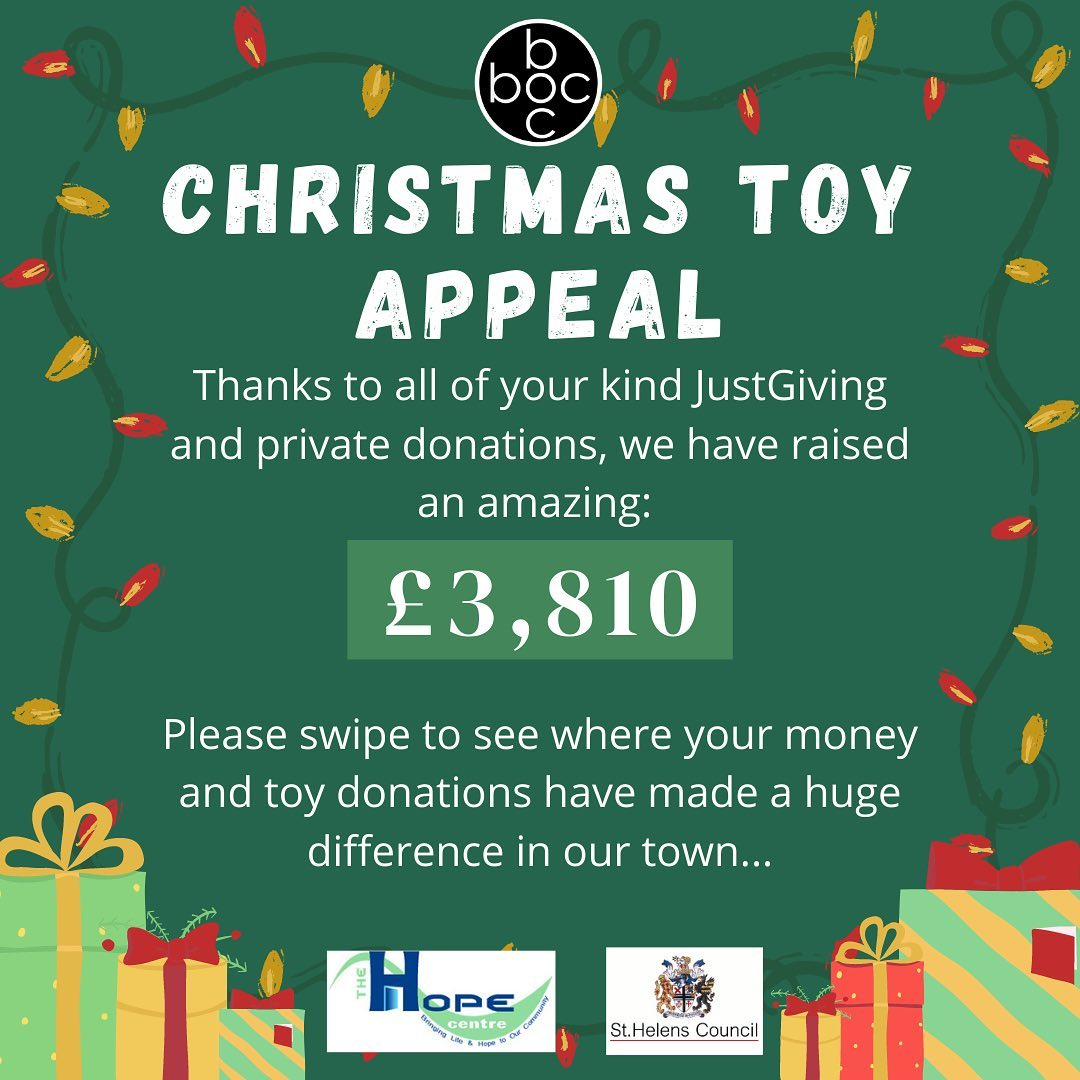 Xmas Toy Appeal Raised
